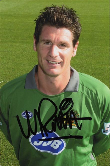 Mike Pollitt, Wigan Athletic, signed 6x4 inch photo.